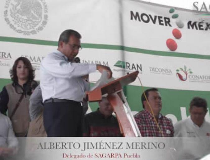 Asamblea Informativa del Gobierno de la República en Libres, Puebla